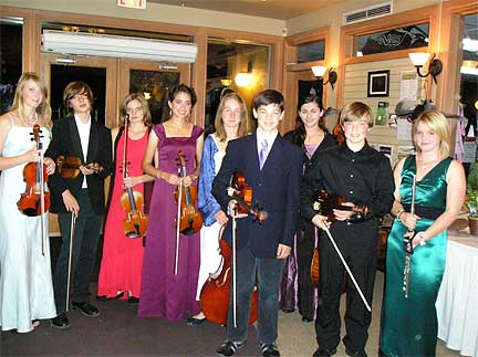 Junior Members of the Orchestra